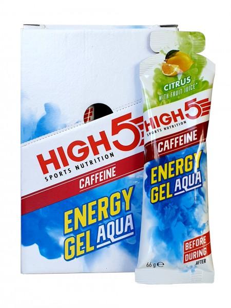 High5 Energy Gel Aqua Caffeine 20x66 ml Zitrus