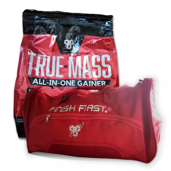 BSN True Mass All-In-One Gainer 4,2kg Gratis BSN Sporttasche