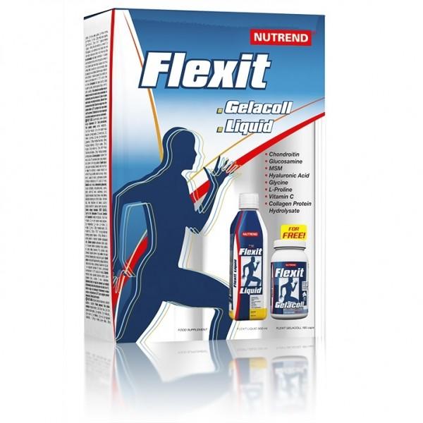 Nutrend Flexit Liquid 500ml + Flexit Gelacoll 180caps