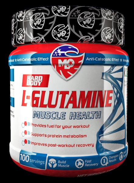 MLO Nutrition Hard Body L-Glutamin The Kyowa Quality ® (KQ) 500g