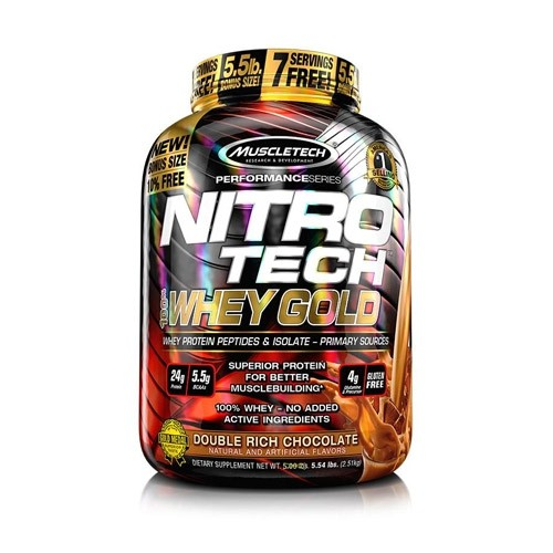 MuscleTech Performance Series Nitro Tech 100% Whey Gold 2500 g