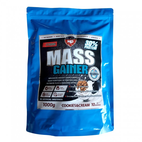 MLO Nutrition Strong Mass Gainer mit 30% Protein
