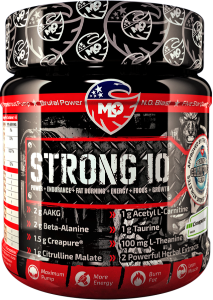 MLO Nutrition Strong 10 Pre-Workout