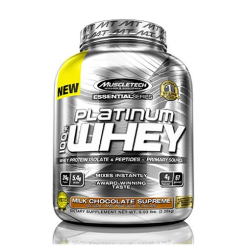 Muscletech 100% Pure Platinum Whey Protein 2270g