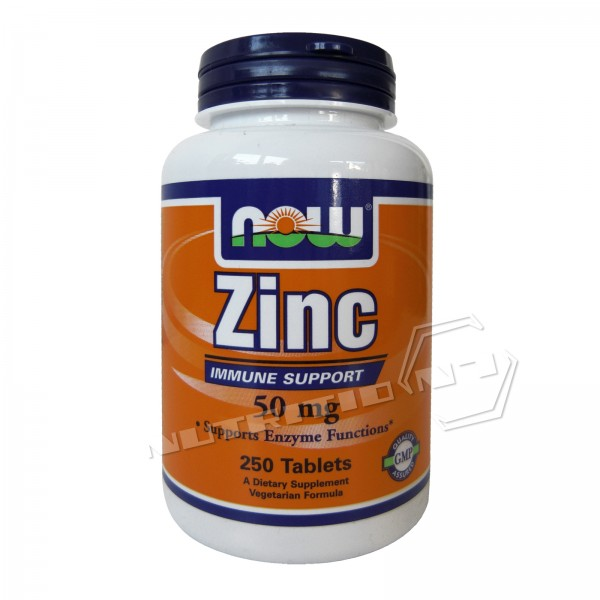 NOW Foods Zinc 250 Tabletten