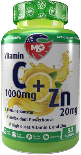MLO Nutrition Green Series Vitamin C 1000 + Zinc