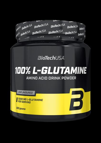 BioTech USA L-Glutamin 500g