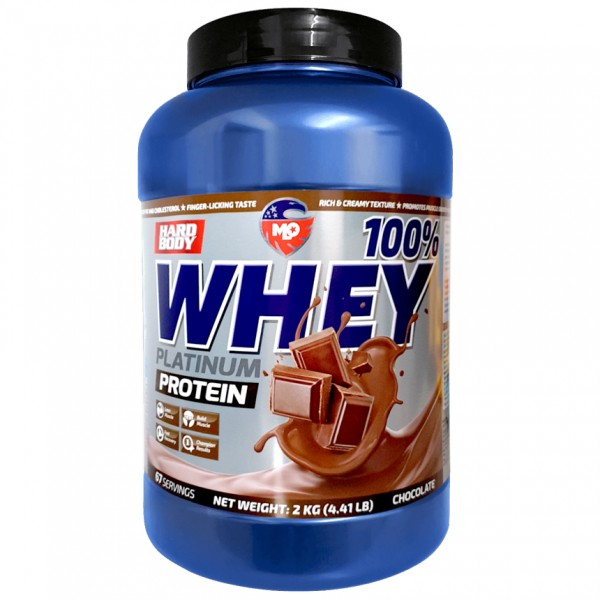 MLO Nutrition Hard Body 100% Whey Platinum Protein