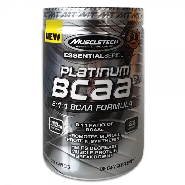 MuscleTech Platinum BCAA 8-1-1
