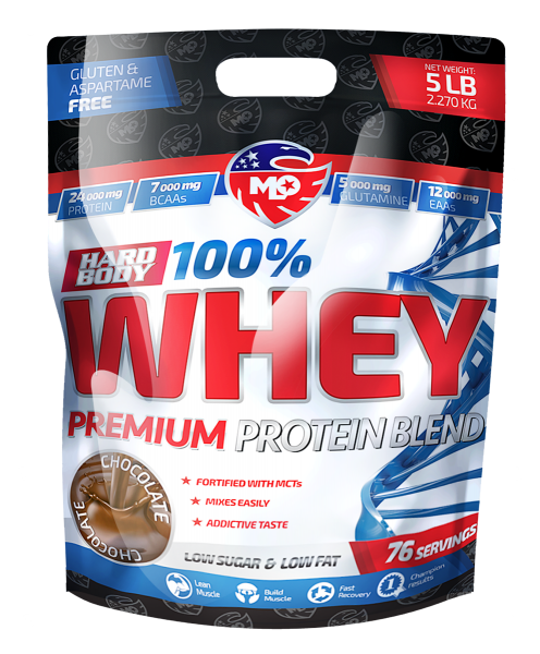 MLO Nutrition 100 % Whey Protein Blend 2270 g
